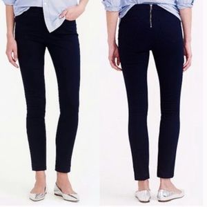 J.CREW High Rise Black Dannie Pants Size 0